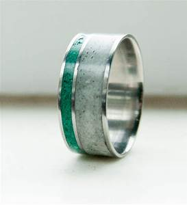Mens wedding band antler malachite ring staghead designs for Mens jade wedding ring