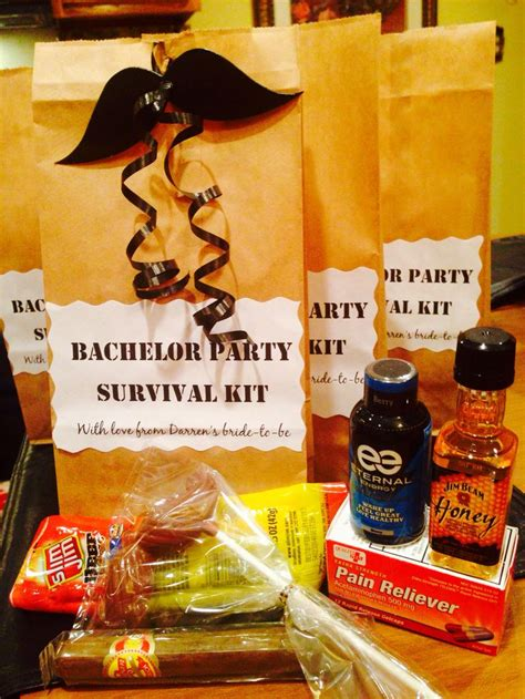 groom survival kits ideas  pinterest groom