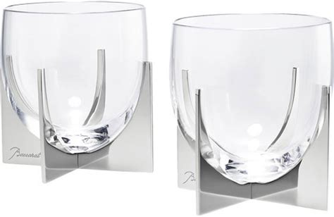 Baccarat Stemware & Barware Paraison Crystal From
