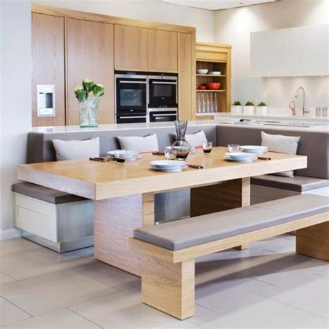 Kitchen Island Booth Ideas by Integrate Booth Seating Kitchen Islands That Really Work