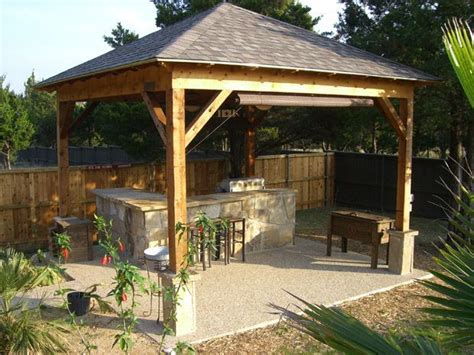 Hip Roof Pergola by Hip Roof With Four Columns Backyard Ideas Patio