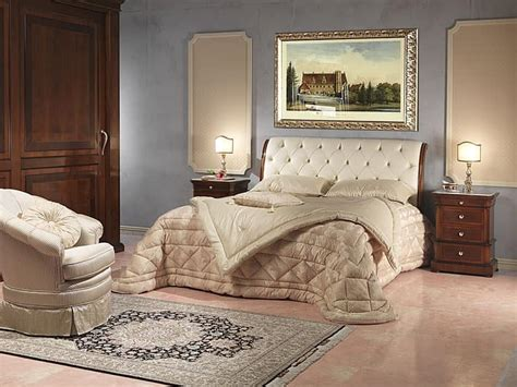 luxury bed  wood  leather   stars hotel idfdesign