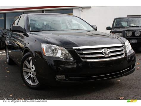 2006 Toyota Avalon Limited In Black 072148