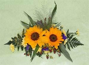 Tischdeko Mit Sonnenblumen : herbstdeko mit sonnenblumen raum und m beldesign inspiration ~ Lizthompson.info Haus und Dekorationen