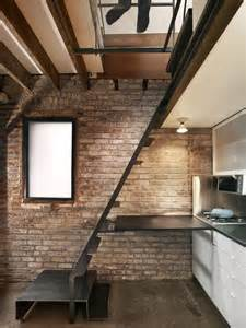 white kitchen island on wheels tiny industrial style guest house conversion modern