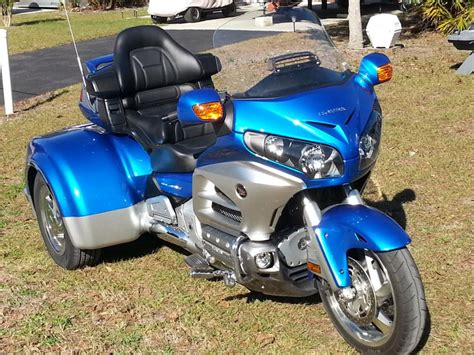 3 Wheel Honda Goldwing Motorcycles For Sale