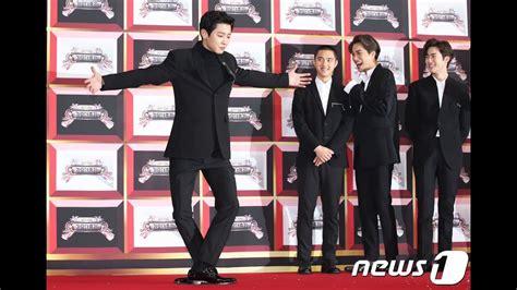 exo kbs hd 171229 exo red carpet kbs gayo daejun wth