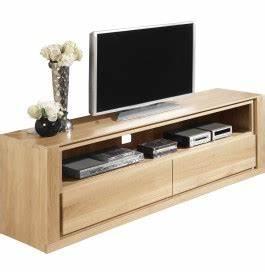 Meuble Tv Chene Clair : meuble tele chene meuble tv design d angle trendsetter ~ Teatrodelosmanantiales.com Idées de Décoration