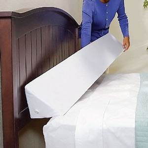 Pinterest o the worlds catalog of ideas for Bed wedge to keep pillows from falling