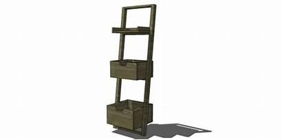 Bookcase Plans Diy Leaning Furniture Sloane Nod