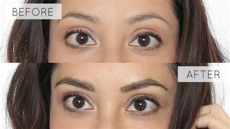 tint  eyebrows  home tutorial lynsire youtube