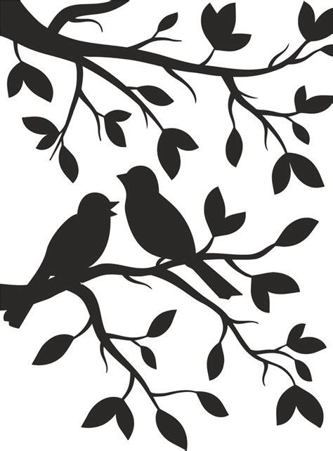 birds stencil  vector cdr  axisco