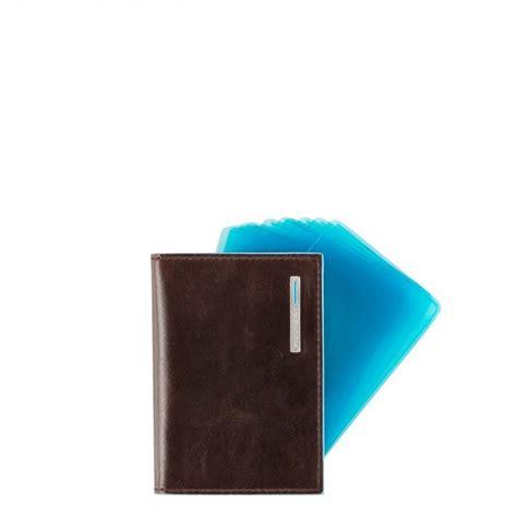 porta a ventaglio porta carte di credito piquadro a ventaglio blue square