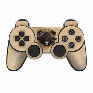 PS3 Controller Skin Pug By The Mountain DecalGirl