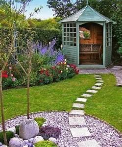 1001 idees et conseils pour amenager une rocaille fleurie With decoration jardin avec pierres 6 differents bordures de jardin archzine fr