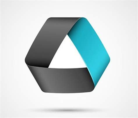 free blue ribbon logo template vector titanui