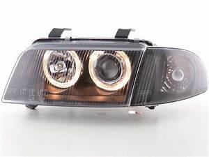 A4 B5 Scheinwerfer : scheinwerfer angel eyes audi a4 typ b5 bj 95 99 schwarz ~ Kayakingforconservation.com Haus und Dekorationen