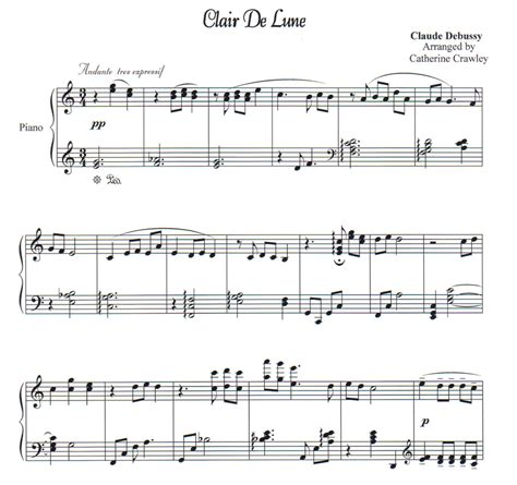 Clair De Lune  Piano Lessons By Cathy Crawley Pensacola