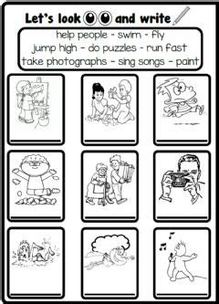 action verbs worksheets   exercises