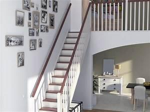 Décoration D Escalier Intérieur : id es d co pour relooker son escalier elle d coration ~ Nature-et-papiers.com Idées de Décoration