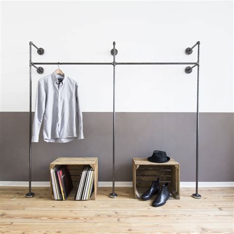 Schwere Decke Selber Machen by Open Wardrobe Clothes Rack Clothes Stand Steel Pipe Etsy