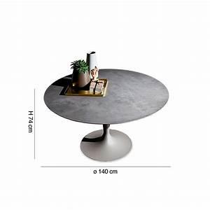 Table Ronde 140 Cm : table ronde flute diam 140 cm by sovet italia lovethesign ~ Teatrodelosmanantiales.com Idées de Décoration