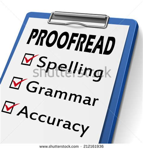 Proofreading Stock Photos, Royaltyfree Images & Vectors Shutterstock