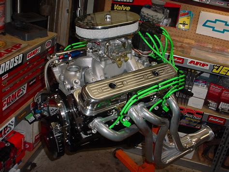 Small Block Chevy Engine by Classic Engine Profile Chevy S Small Block 4wheel