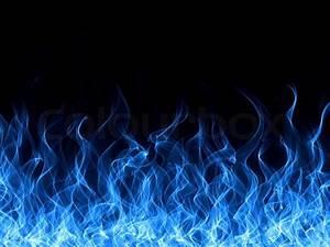 Blue Fire Background - WallpaperSafari