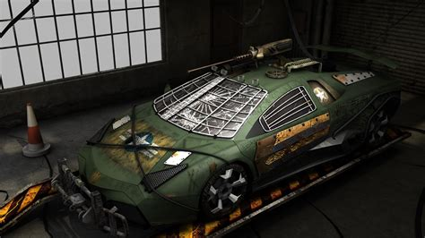 lamborghini reventon   virtual zombie fighting