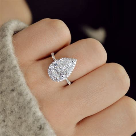 pear shape diamonds ascot diamonds