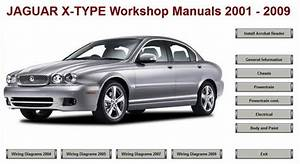 Jaguar X Type X400 Workshop Repair Manual 2001