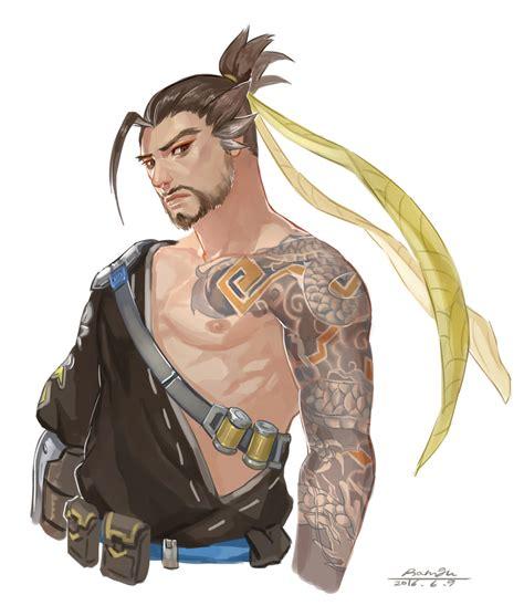 hoodie genji overwatch overwatch hanzo by ramgu on deviantart