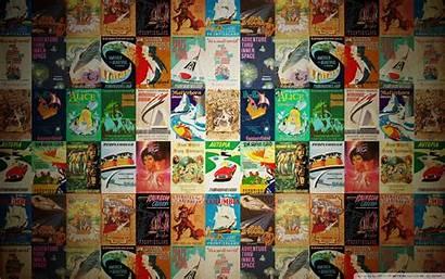 Posters Wide Retro Desktop Background Wallpapers Disney