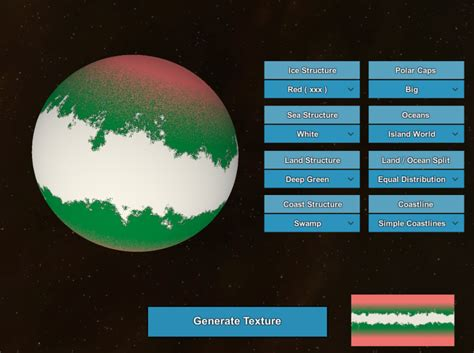 planet surface generator  joerg reisig