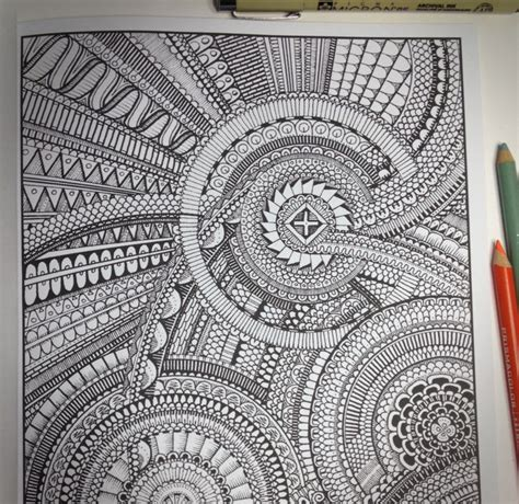 lines  impossible coloring book