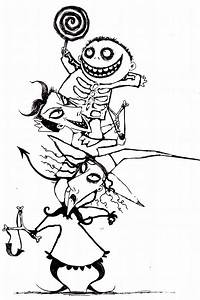 Free Printable Nightmare Before Christmas Coloring Pages ...