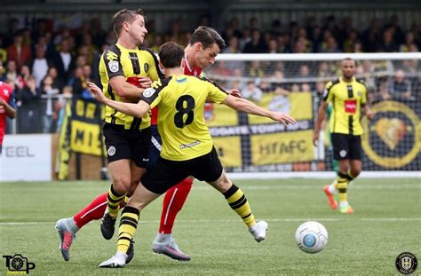 Harrogate Town AFC - Match Report Harrogate Town 2 York City 0