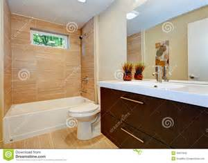 new bathroom design modern new bathroom design with sink and white tub stock photo image 32017840