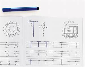 personalised kids activity tracing book to learn the alphabet With tracing letters booklet