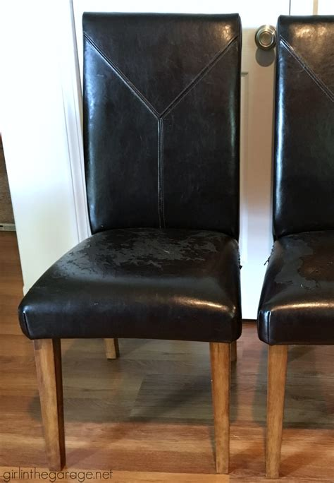 reupholstering dining room chairs with leather white desk