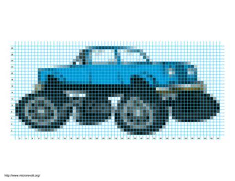 ravelry monster truck pattern  heidi rosin