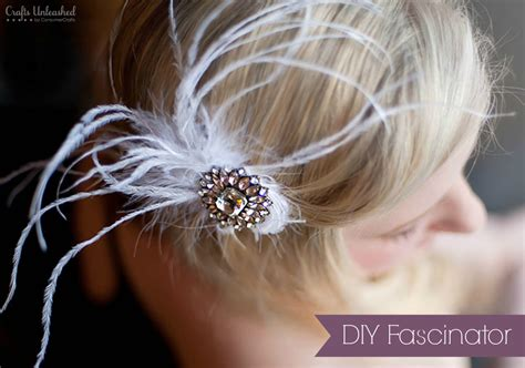 diy wedding hair fascinator fascinator diy make your own blinged out hair accessory