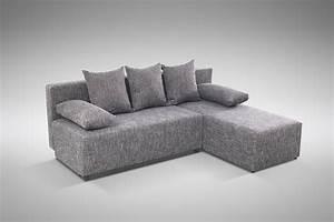 L Couch Grau : schlafsofa sofa couch ecksofa eckcouch grau schlaffunktion astana l r polsterm bel sofa ~ Orissabook.com Haus und Dekorationen