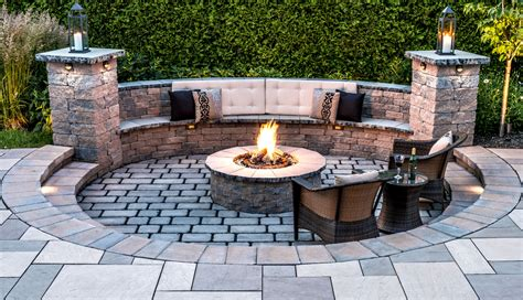 outdoor pit area designs fire pits fire pits outdoor living area ideas for small backyards in rochester new york ny