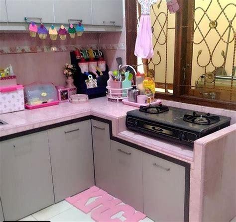ide desain dapur cantik minimalis favorit bunda