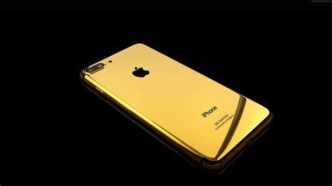 Gold Iphone 7 Plus Hd Wallpaper