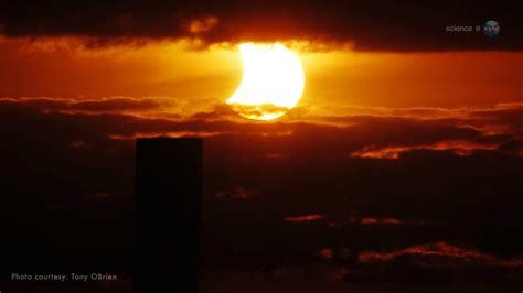 sciencecasts sunset solar eclipse youtube