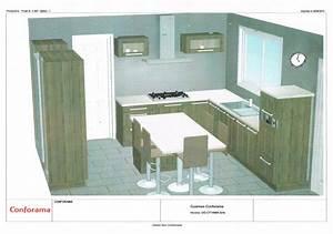 Plan De Cuisine Gratuit : fabulous dessiner un plan de cuisine dessin pour cuisine ~ Melissatoandfro.com Idées de Décoration