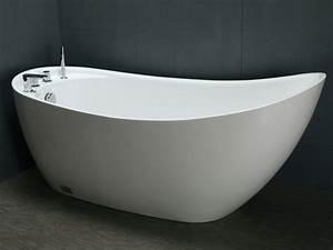 Frei Stehende Badewanne : freistehende badewanne natalia 181 l g nstig kaufen ~ Udekor.club Haus und Dekorationen